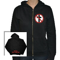 IMAGE | Bad Religion - Womens Cross Buster Hoodie