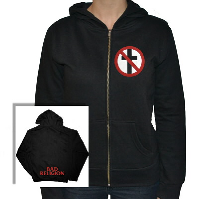 Bad Religion - Womens Cross Buster Hoodie