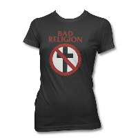 IMAGE | Bad Religion - Womens Cross Buster Shirt