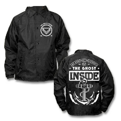 TGI Anchor Windbreaker/Jacket - The Official Ghost Inside Online Store