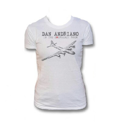 Dan Andriano In The Emergency Room - Womens Plane T-Shirt