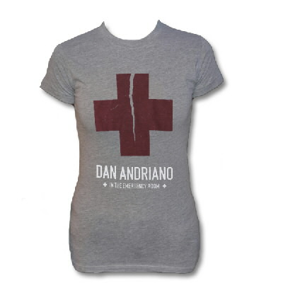 Dan Andriano In The Emergency Room - Womens Cross Tee