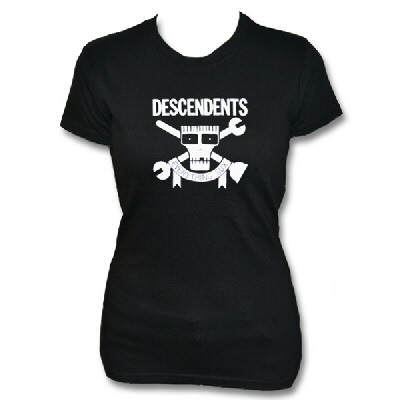 Descendents - Descendents Everything Sucks Plungers Womens Tee