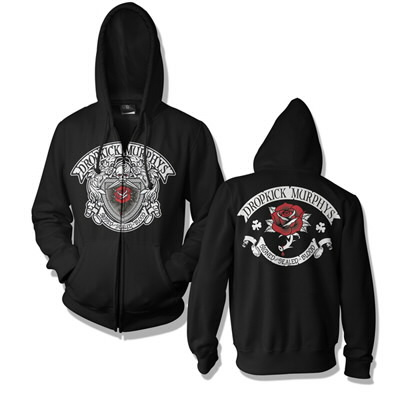 Dropkick Murphys - DKM Signed & Sealed Zip Hood