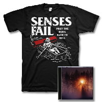 IMAGE | Senses Fail - Renacer CD & Devil Tee