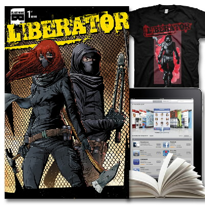 Liberator - Liberator Issues 1-4 Bundle