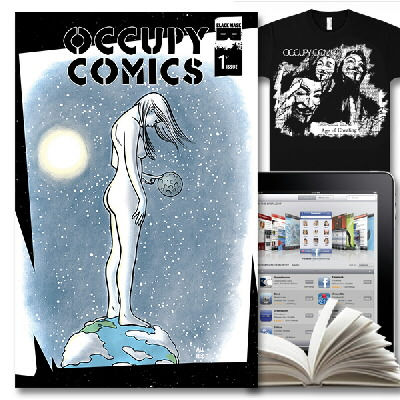Occupy Comics - Occupy Comics Issue 1-3 Bundle