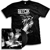 IMAGE | Retox - YPLL LP (Black) & White Shit Shirt