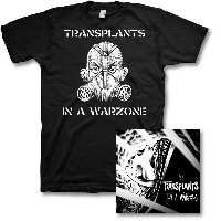 IMAGE | Transplants - In a Warzone CD & Warzone Shirt