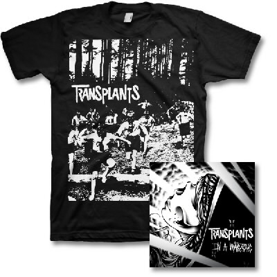 Transplants - In a Warzone CD & Running Kids Shirt