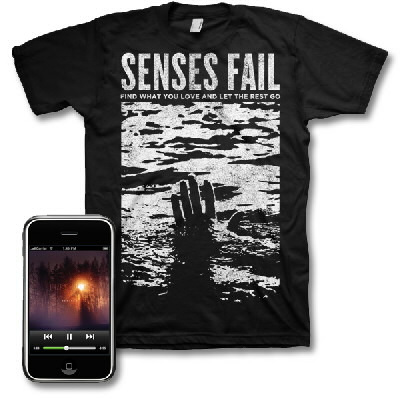Senses Fail - Renacer Digital Download & Find What You Love Tee