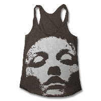 IMAGE | Converge - Womens Jane Doe Raceback Tank - Brown