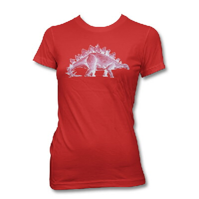 The Antlers - Womens Dino Shirt