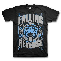 IMAGE | Falling In Reverse - Lion Shield Tee (Webstore Version)