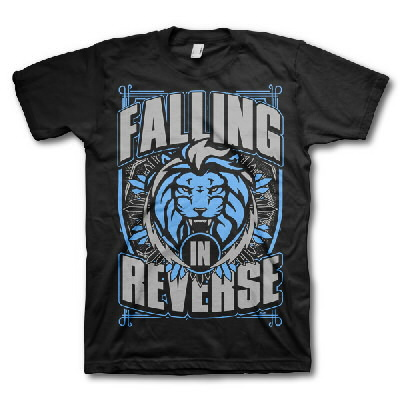 Falling In Reverse - Lion Shield Tee (Webstore Version)