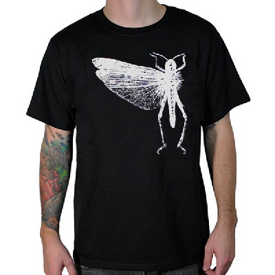 The Locust - Locust Bug Logo Shirt - Black