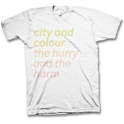 City And Colour - The Hurry And The Harm Shirt - Mens