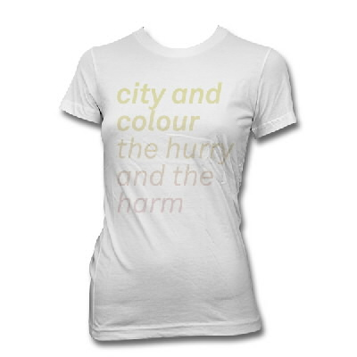 IMAGE | City And Colour - The Hurry And The Harm Shirt - Womens