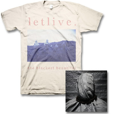 Letlive - The Blackest Beautiful CD & Natural Logo Tee