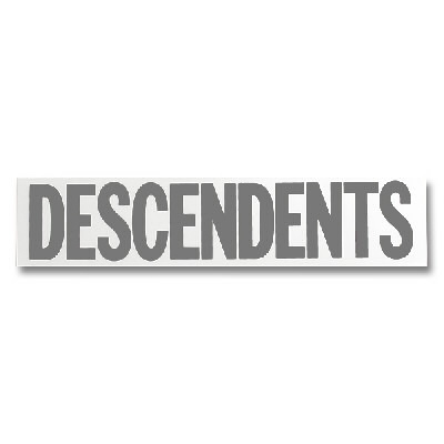 Descendents - Logo Sticker - Gray