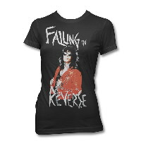 IMAGE | Falling In Reverse - FIR Ronnie Photo Junior Womens Tee