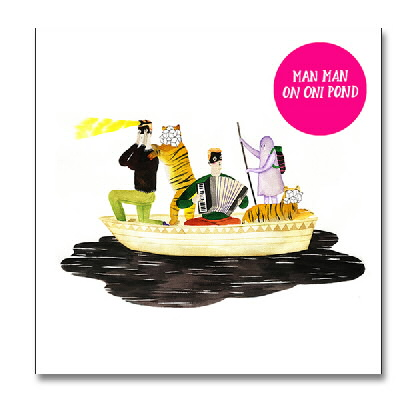 Man Man - On Oni Pond CD