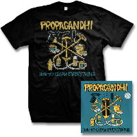 IMAGE | Propagandhi - How to Clean Everything - Remastered CD & Album Tee
