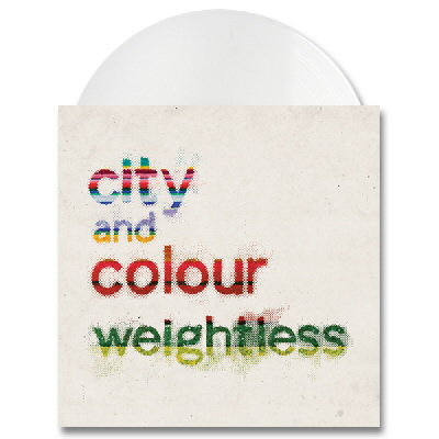 "City And Colour - Weightless - 7""  (White)"