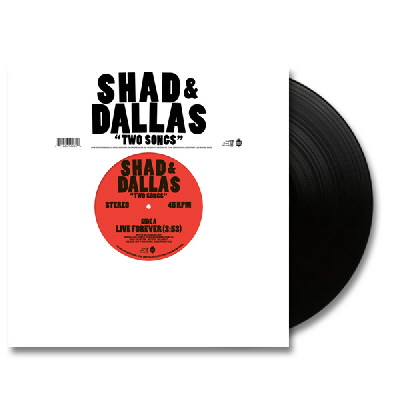 Shad And Dallas - Two Songs - LP