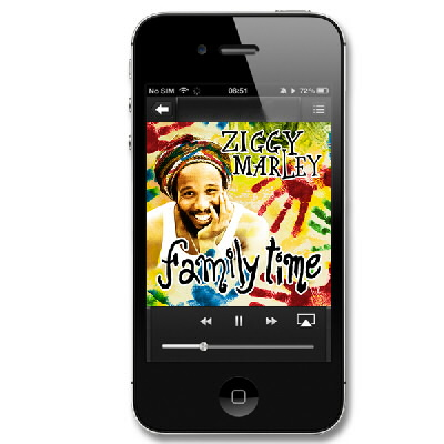 Ziggy Marley - Family Time (bonus) - WAV Digital Download