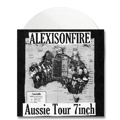 "Dine Alone Records - Aussie Tour 7"" - White"