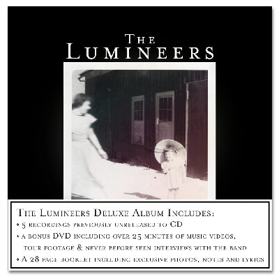 The Lumineers - The Lumineers - Deluxe CD/DVD
