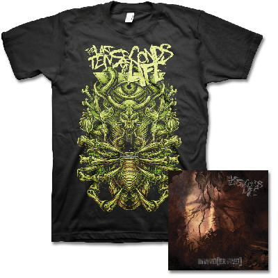The Last 10 Seconds Of Life - Invivo Exvivo CD & Demon Eye Tee