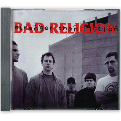 IMAGE | Bad Religion - Stranger Than Fiction CD