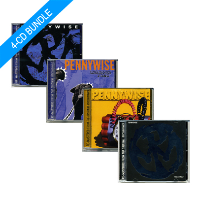 IMAGE | Pennywise - Pennywise Remasters CD bundle