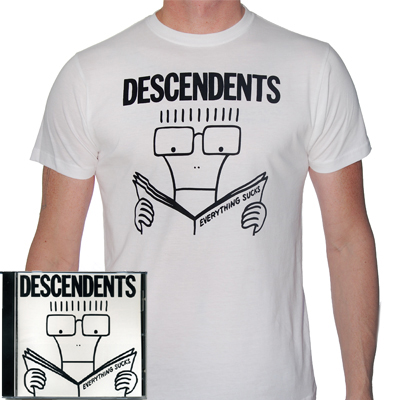 IMAGE | Descendents - Descendents Everything Sucks CD & Shirt
