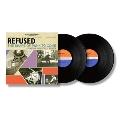 IMAGE | Refused - The Shape Of Punk To Come 2xLP
