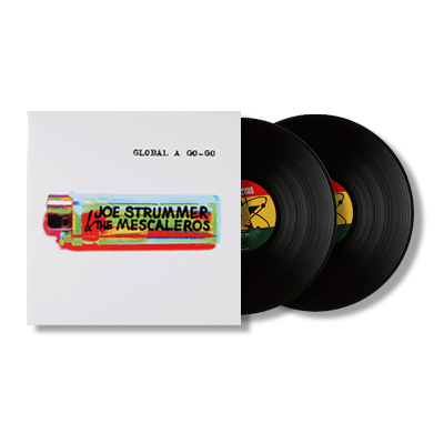 IMAGE | Joe Strummer & The Mescaleros - Global-A-GoGo 2xLP (Black)