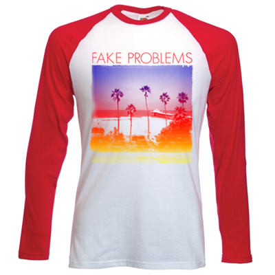 IMAGE | Fake Problems - Beach Baseball Shirt