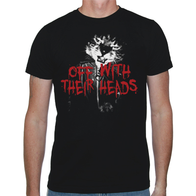 IMAGE | Off With Their Heads - Party Cat Shirt