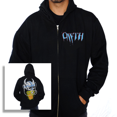 IMAGE | Off With Their Heads - Viking Beer Helmet Hoodie