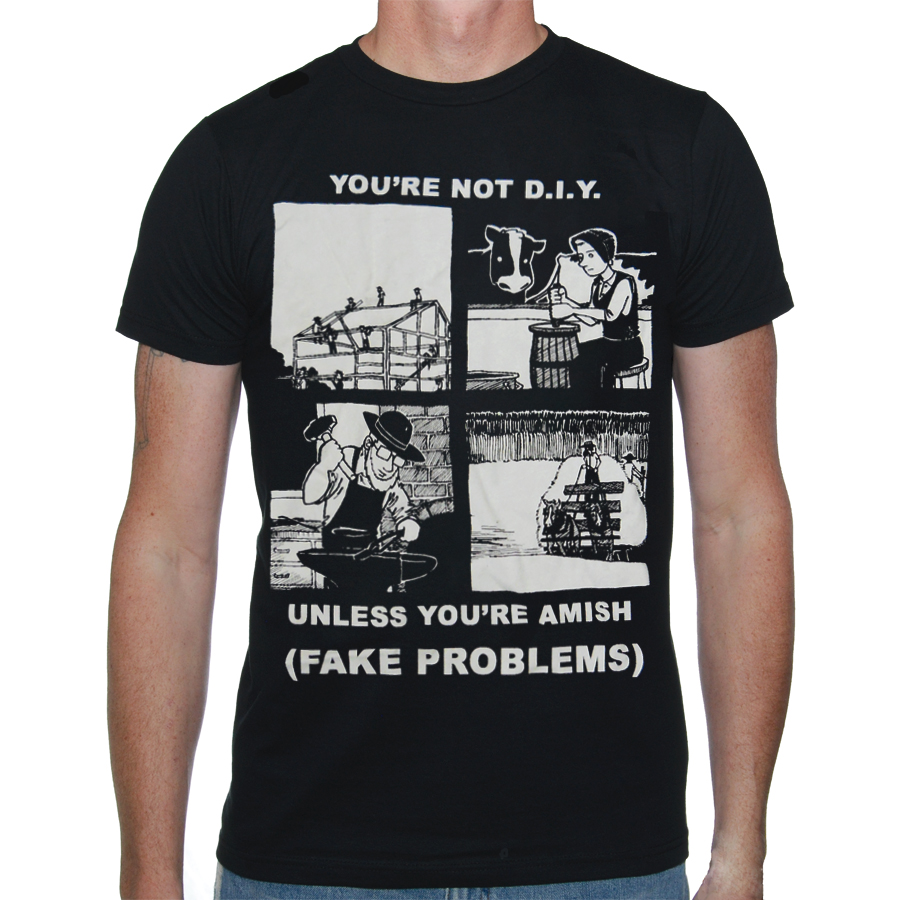 IMAGE | Fake Problems - DIY Shirt
