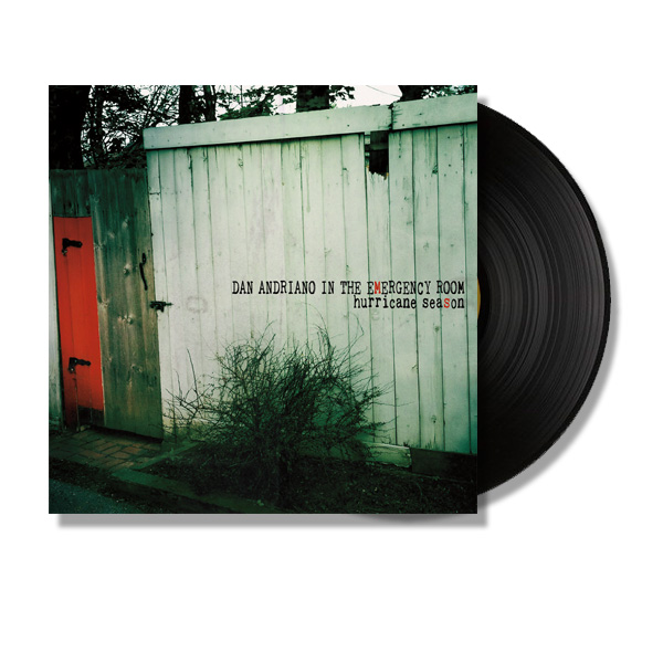 IMAGE | Dan Andriano In The Emergency Room - Hurricane Season LP (Black)