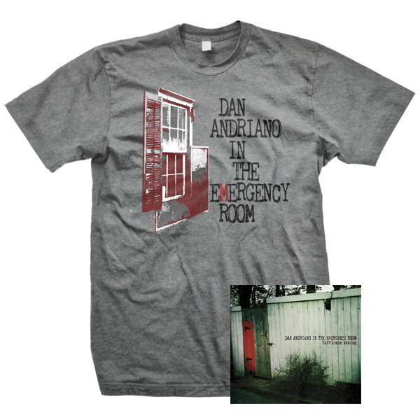 IMAGE | Dan Andriano In The Emergency Room - Hurricane Season CD & Mens Shirt