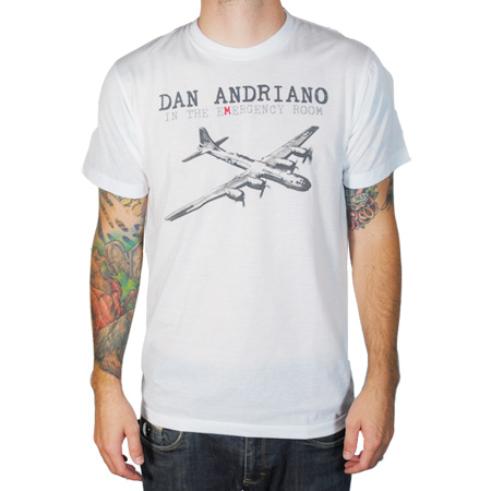 IMAGE | Dan Andriano In The Emergency Room - Plane T-Shirt