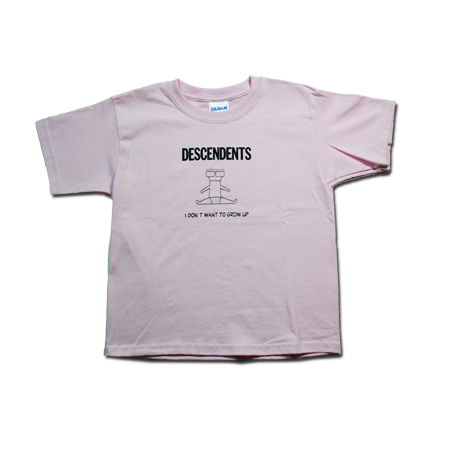 IMAGE | Descendents - I Don't Want To Grow Up Toddler Tee (Pink)