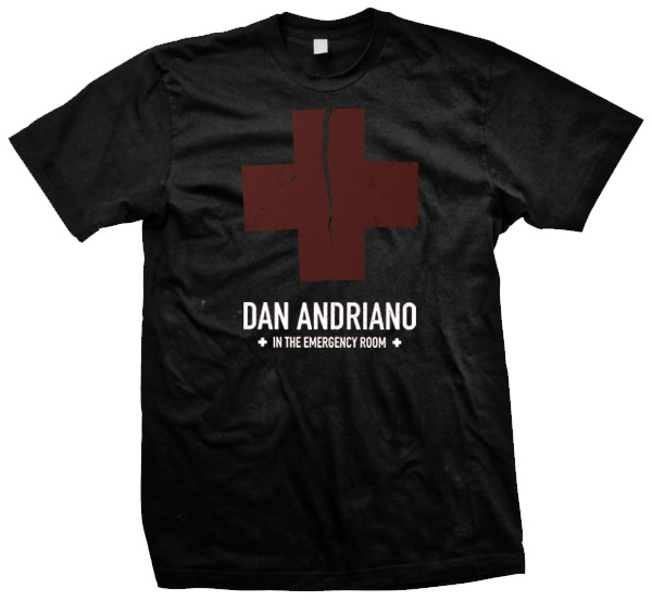 IMAGE | Dan Andriano In The Emergency Room - Cross Tee