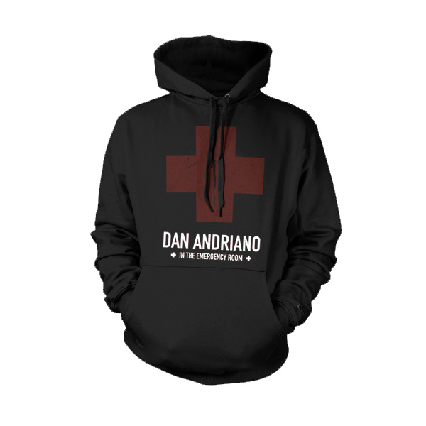 IMAGE | Dan Andriano In The Emergency Room - Cross Hoodie