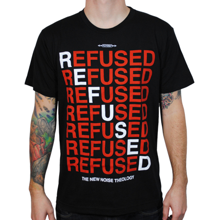 IMAGE | Refused - New Noise Red Tee