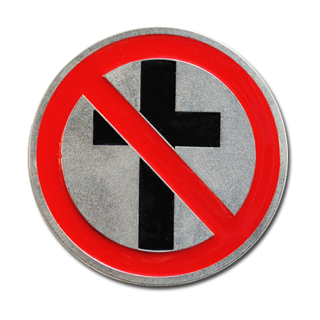 IMAGE | Bad Religion - Crossbuster Belt Buckle